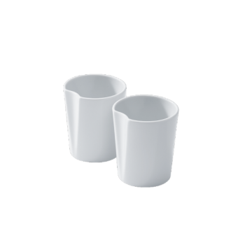 Juego de dos piezas de porcelana