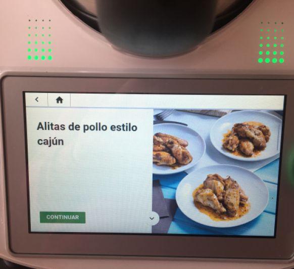 SOLOMILLOS DE POLLO AL ESTILO CAJUN
