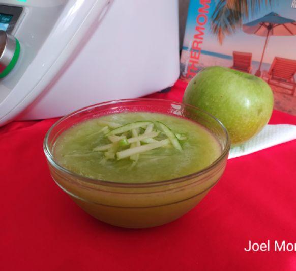 Sorbete de manzana verde