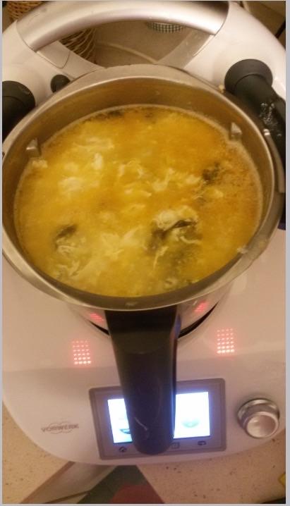 Sopa Verde con Thermomix®
