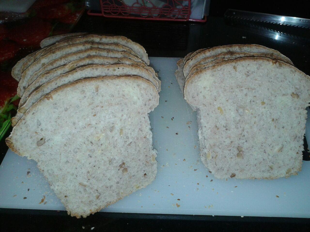 Pan de Espelta y Nueces con Thermomix®