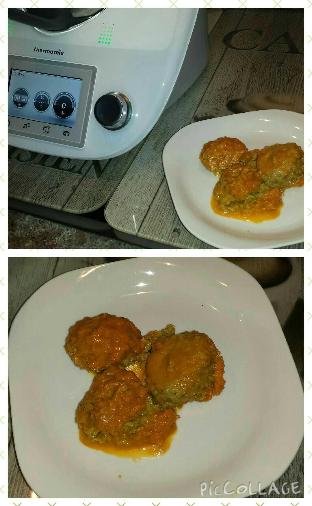 Albóndigas de Seitan con salsa de tomate