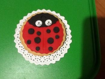 Exquisita receta de galletas de mantequilla con adornos infantiles