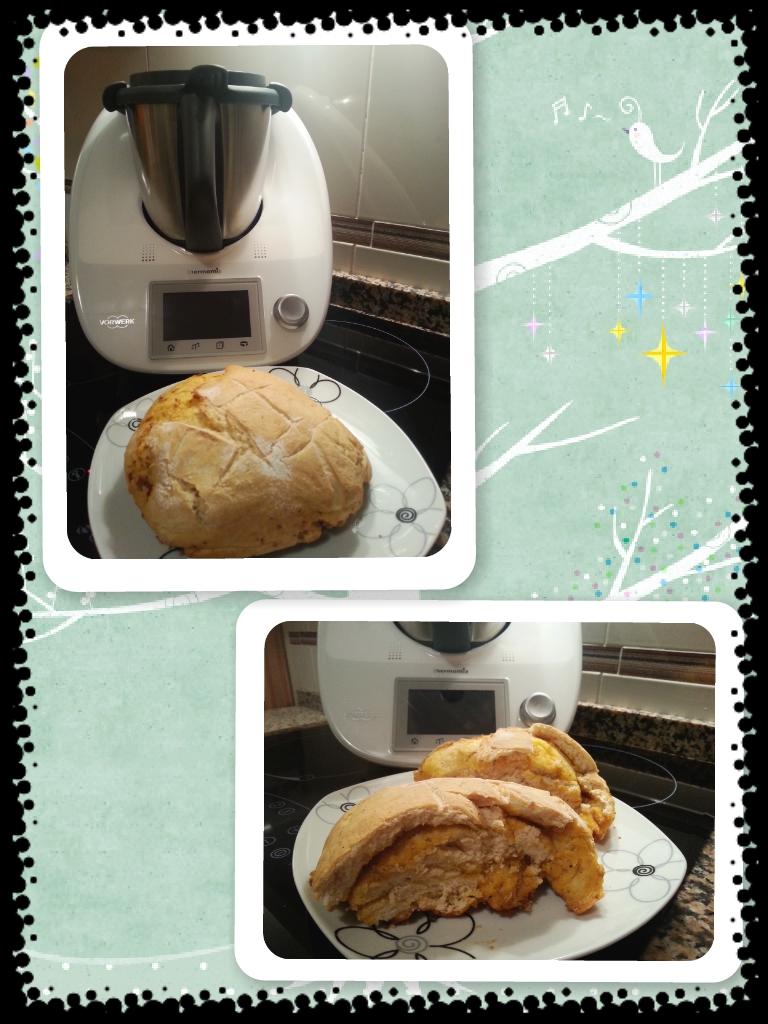 Pan rapido con chorizo del pais con Thermomix®