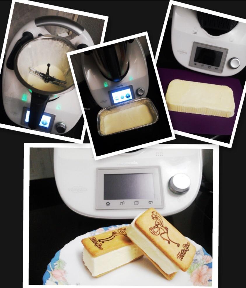 Sándwich de nata con Thermomix®