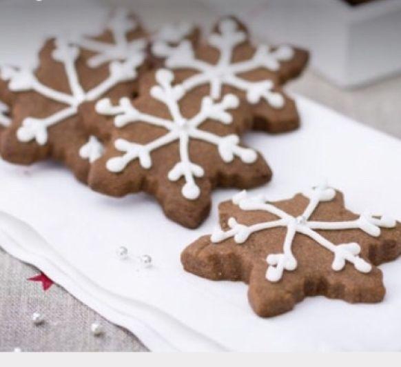 Como hacer unas galletas de cacao. canela y almendras para navidad con Thermomix® .