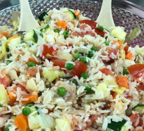Como hacer una Ensalada de arroz con Thermomix®
