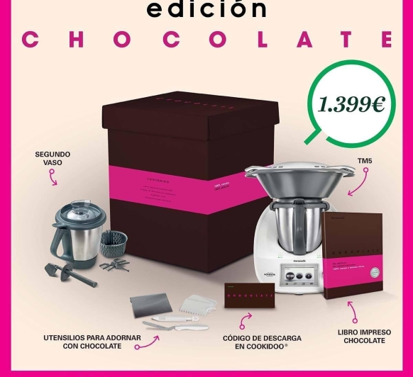 Edición chocolate al 0%de interés