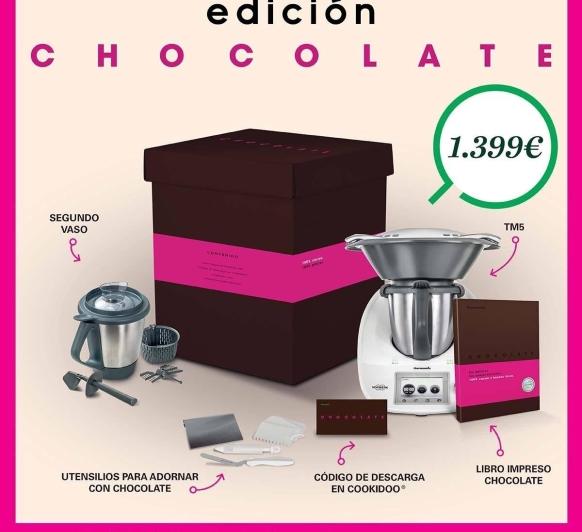 Edición chocolate al 0%de interés