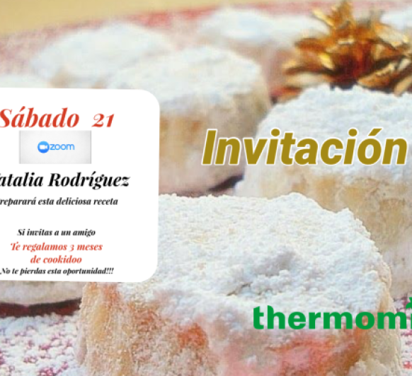 Taller de dulces de Navidad con Thermomix®
