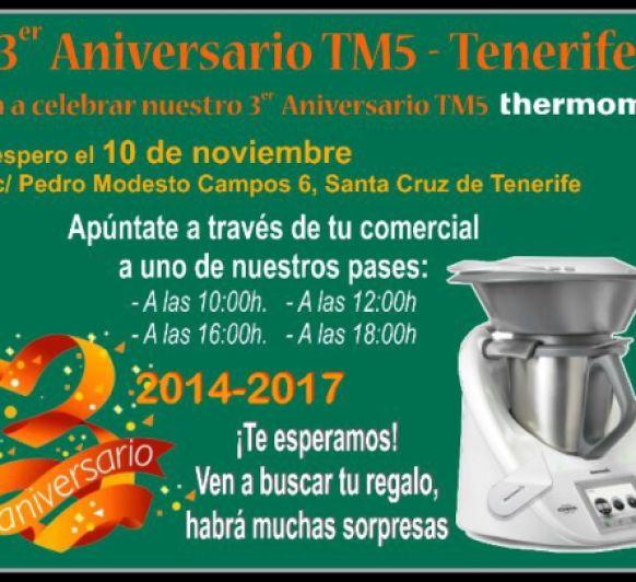 3 ANIVERSARIO DE TM5, Thermomix®