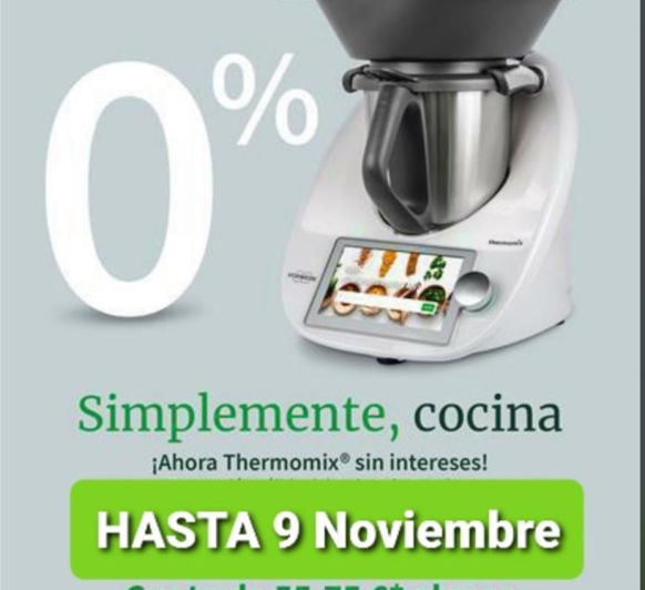 Thermomix® 0%, sin intereses!!!!