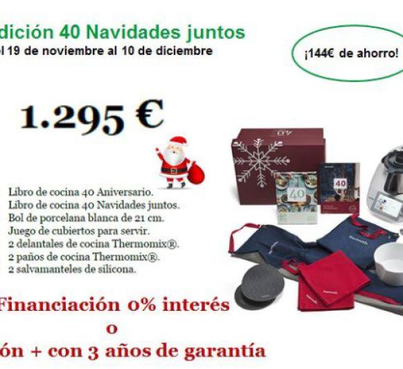 Nueva promocion 40 Navidades juntos al 0 % de interés