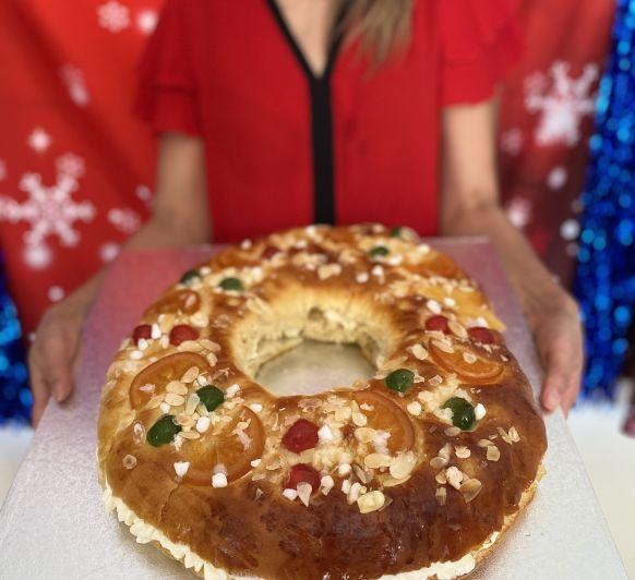 Roscon de Reyes tradicional