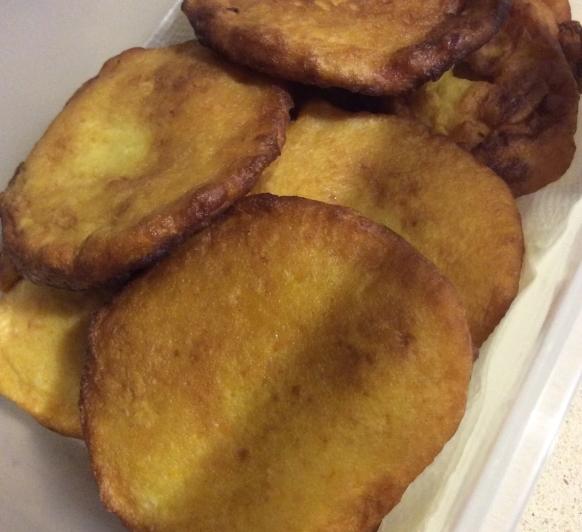 Tortitas de carnaval de calabaza con Thermomix®