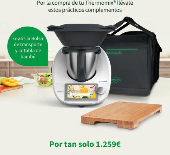 Consigue Tu Thermomix® TM6 Con Regalitos!!