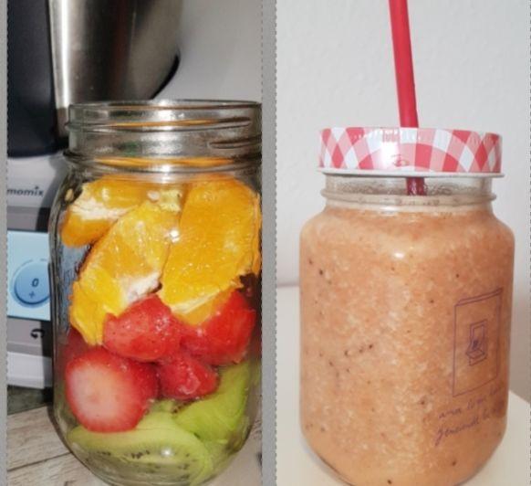 Smoothie frutas