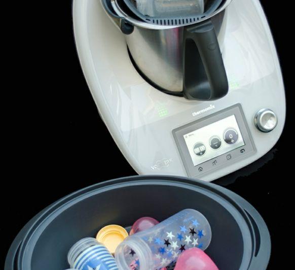 Como esterilizar los biberones con Thermomix®