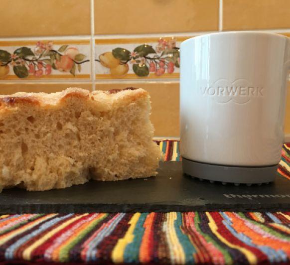 Pan nevado para el desayuno con Thermomix®