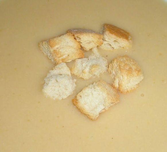 Crema de cebolla. Ideal para el invierno.