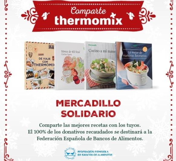 MERCADILLO SOLIDARIO-COMPARTE Thermomix®