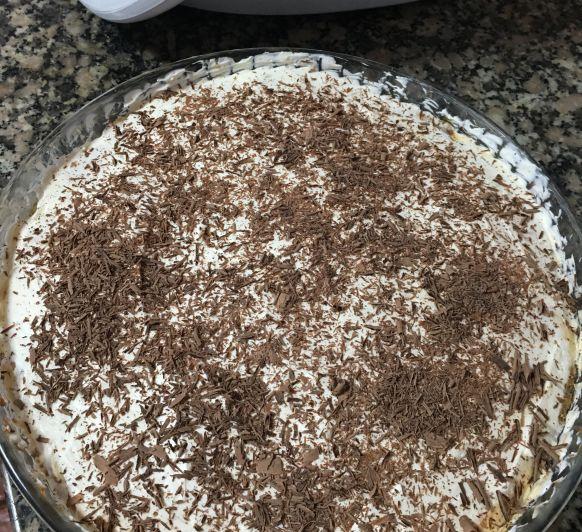 Tarta de platano y dulce de leche ( banoffee pie)