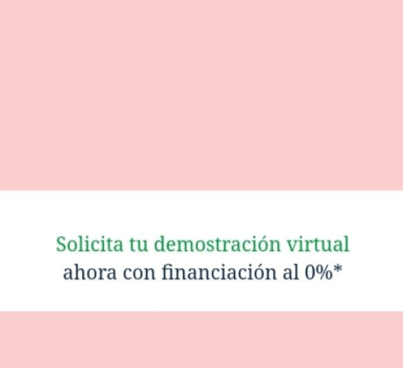 Pide tu Demostración Virtual!
