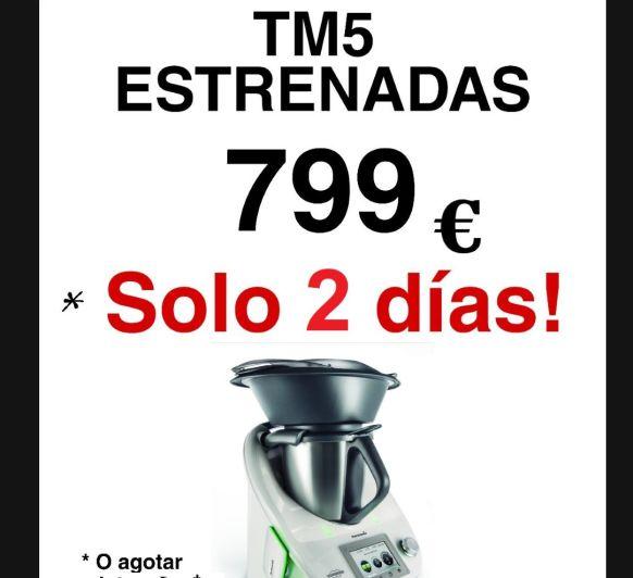 Thermomix® TM5 Estrenadas