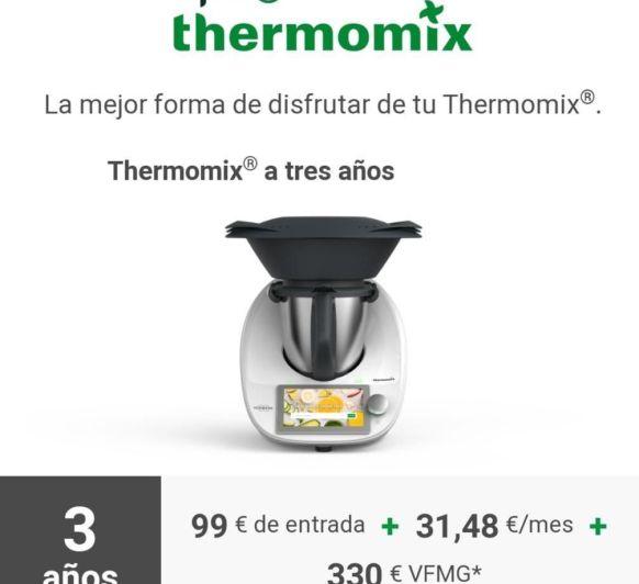 Paga tu Thermomix® cómodamente en 3 años¡¡