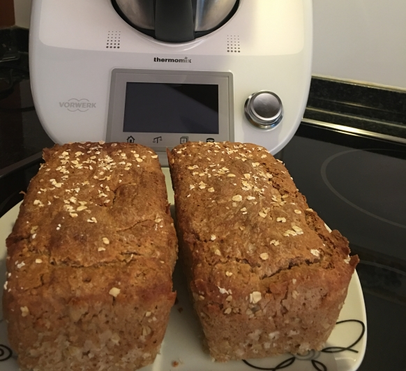 Pan de espelta y trigo sarraceno, apto para celiacos