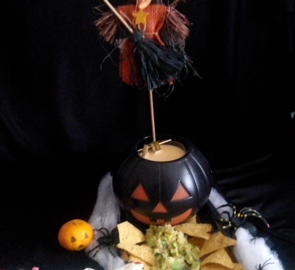 Guacamole y Salsa de Queso Cheddar con Jalapeños con Thermomix®