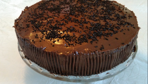TARTA DE CHOCOLATE Y COCO - para chocoadictos
