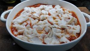 BACALAO AL AJOARRIERO CON PAPAS - Cocina sana con Thermomix®